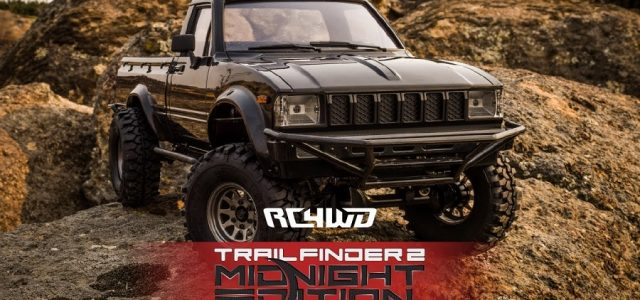 RC4WD Trail Finder 2 With Mojave Body Set (Midnight Edition) [VIDEO]