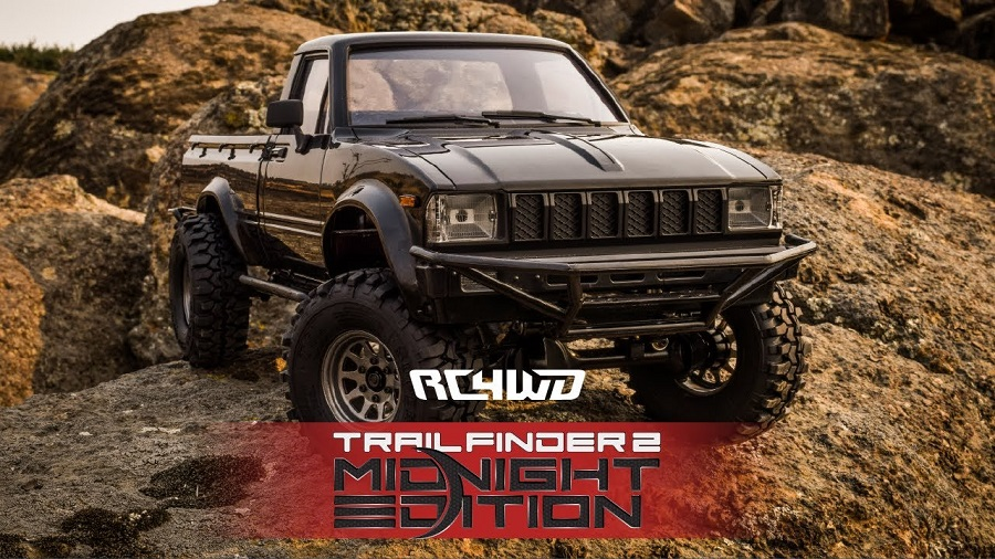 RC4WD Trail Finder 2 With Mojave Body Set (Midnight Edition)