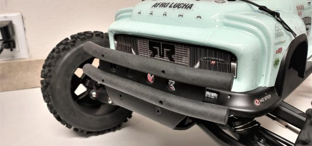 TBR EXB XV4 Front Bumper For The ARRMA OutCast 6S / Notorious