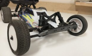 TBR Racer2 Front Bumper For The Losi Mini B