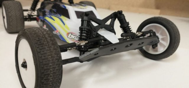 TBR Racer2 Front Bumper For The Losi Mini B