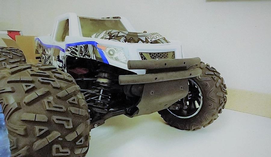 TBREXB XV4 Front Bumper For The Losi LST 3XL-E