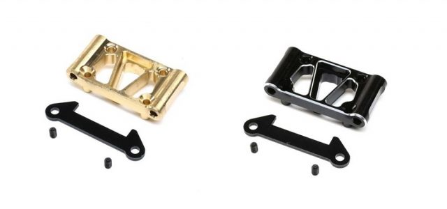 TLR Aluminum & Brass Front Pivot For The 22 5.0