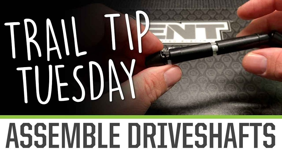 Trail Tip Tuesday Assemble Driveshafts
