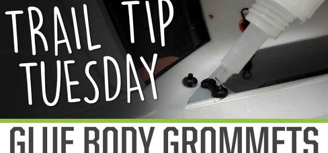 Trail Tip Tuesday: Glue Accessory Grommets [VIDEO]
