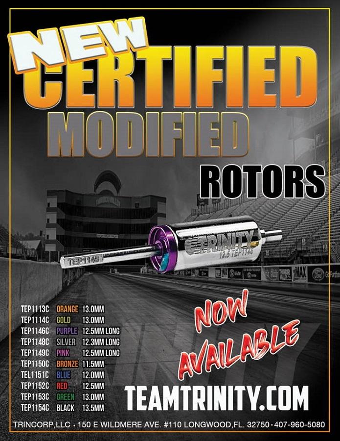 Trinity Certified Modified Rotors
