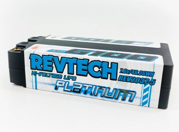 Trinity REVTECH 6100mah 7.6v Shorty Pack