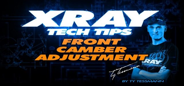 XRAY Tech Tips – Front Camber Adjustment On The XB8 [VIDEO]