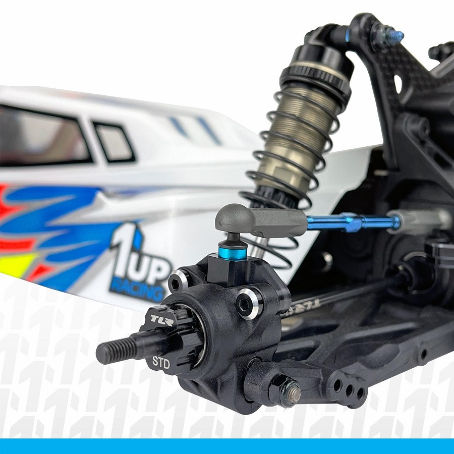 1up Racing Perfect Center Rear Outer Camber Link Mounts For The TLR 22 5.0 & 22X-4