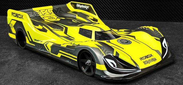 Bittydesign ROBOX 1/12 Pan-Car Clear Body