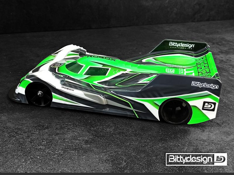 Bittydesign ROBOX 112 Pan-Car Clear Body