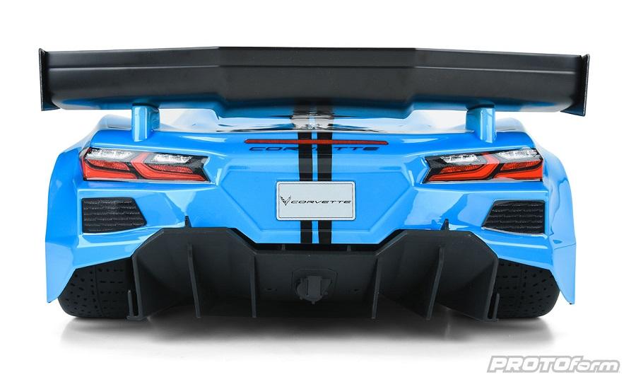 Chevrolet Corvette C8 Clear Body For The ARRMA Felony & Infraction