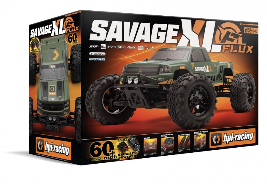 HPI Savage XL FLUX GTXL-1