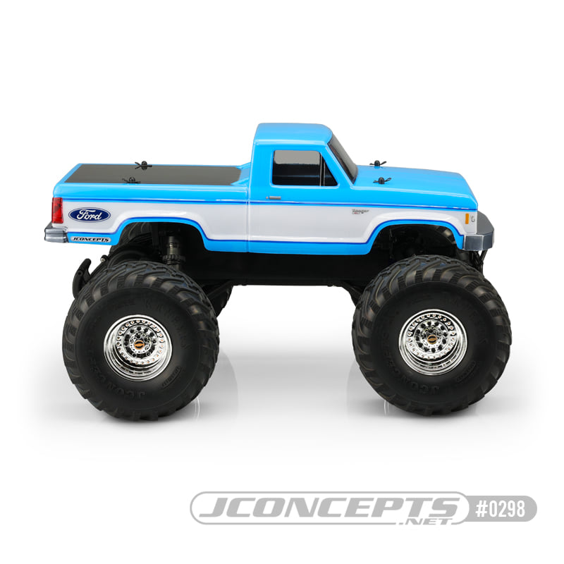 JConcepts 1985 Ford Ranger Clear Body For The Traxxas Stampede