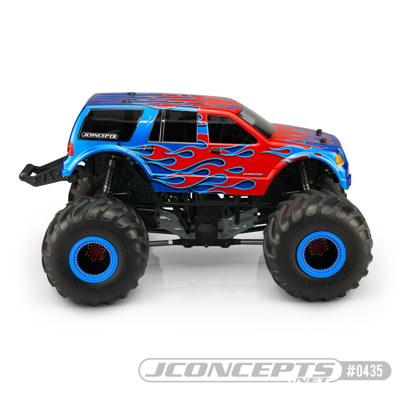 JConcepts 2005 Ford Expedition Clear Body