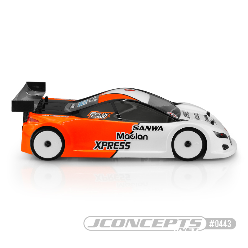 JConcepts  A2R A-One Racer 2 190mm Touring Car Clear Body