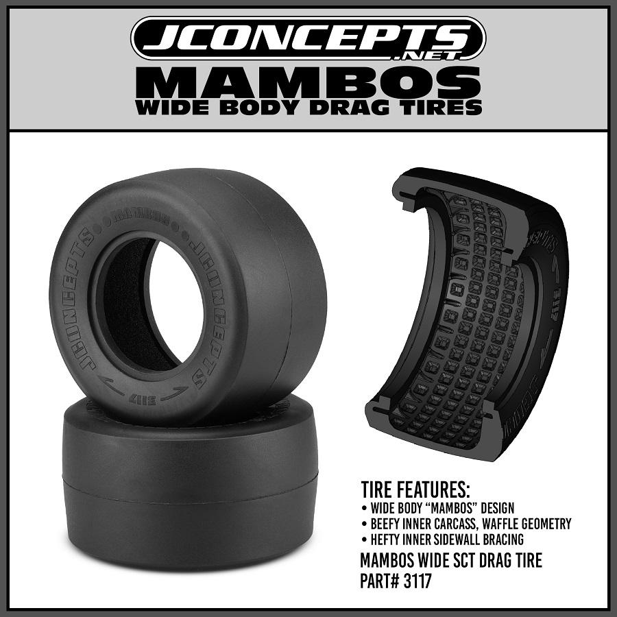 JConcepts Mambos Drag Racing Rear Tire