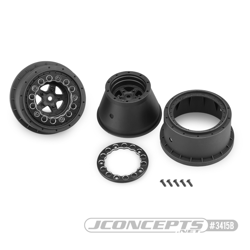 JConcepts Starfish Beadlock Drag Racing Wheels