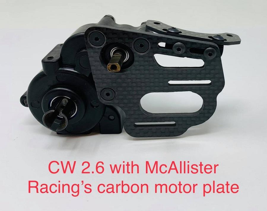 McAllister Racing 40mm Fan Mount