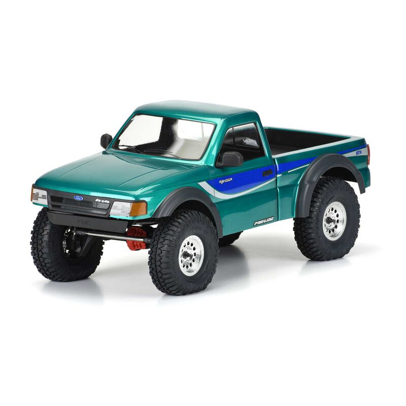 Pro-Line 1993 Ford Ranger Clear Body Set With Scale Molded Accessories