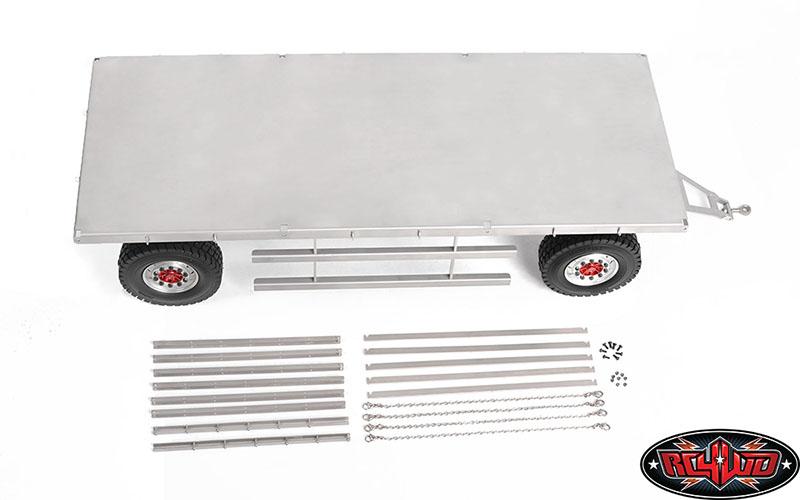 RC4WD 4 Wheel Steel Stake Trailer