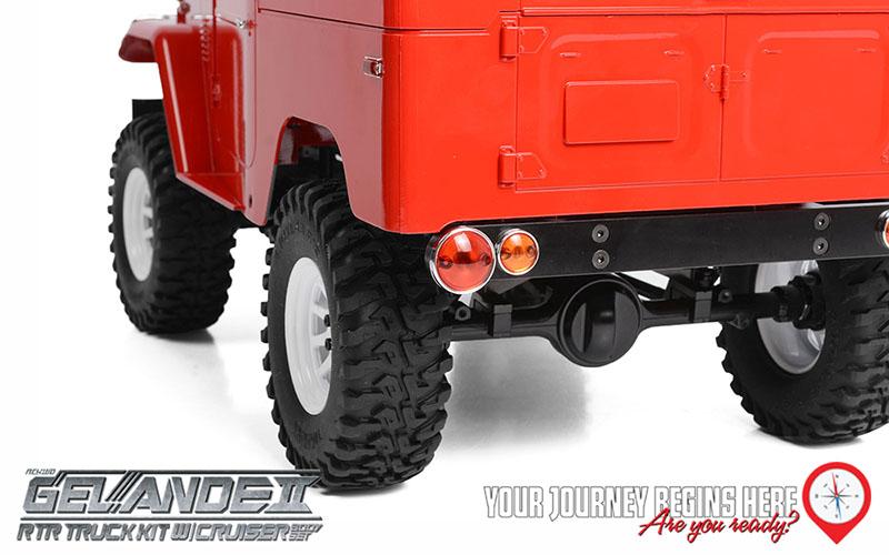RC4WD Gelande II RTR Truck With Cruiser Body Set