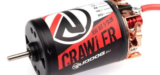 RUDDOG Crawler 550 5-Slot Brushed Motors