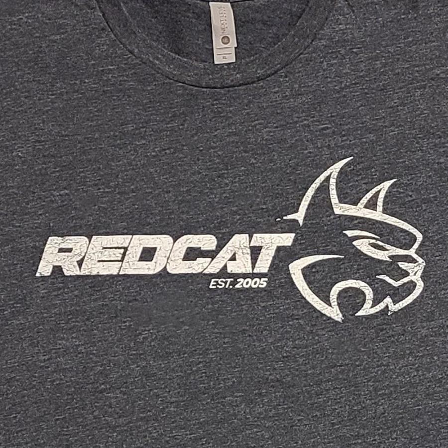 Redcat Trucker Snapback Hat & Distressed T-Shirt