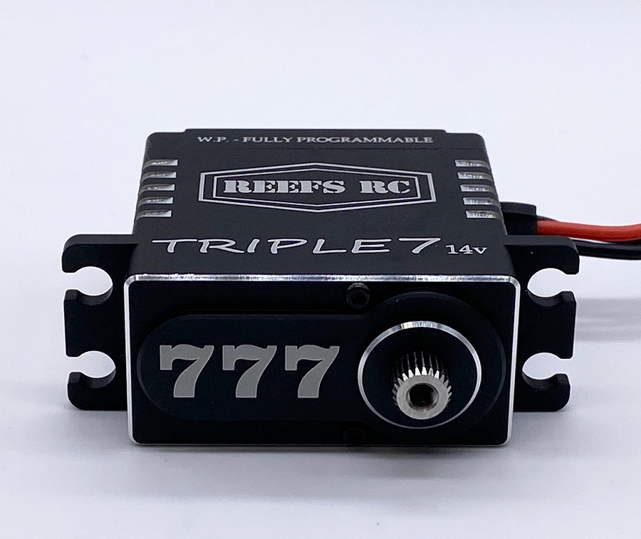 Reef's RC Triple7 14v Fully Programmable Option Servo