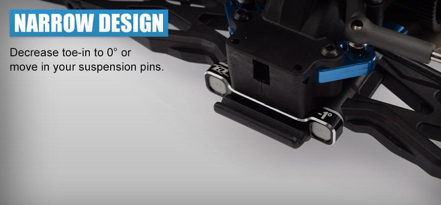 Revolution Design B6.2 -1° D Suspension Block