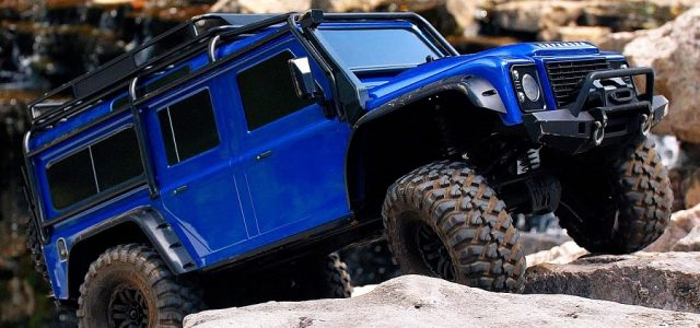 Scale & Trail Adventure With The Traxxas Land Rover Defender TRX-4 [VIDEO]