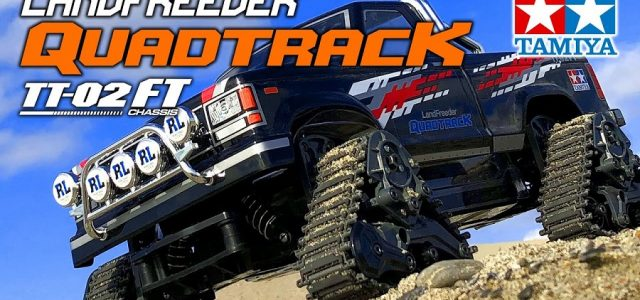 Tamiya 1/10 Landfreeder Quadtrack (TT-02FT Chassis) [VIDEO]