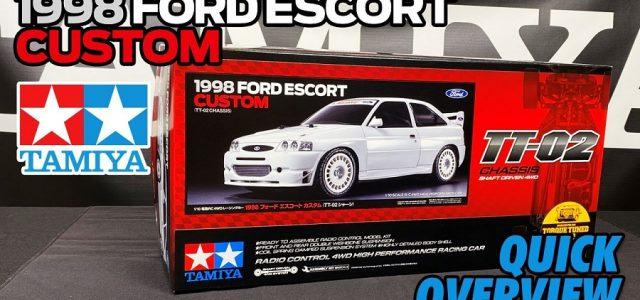 Tamiya 58691 1998 Ford Escort Custom TT02 Overview [VIDEO]
