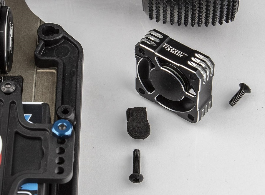 Team Associated Angled Fan Mount For The RC10B6.2
