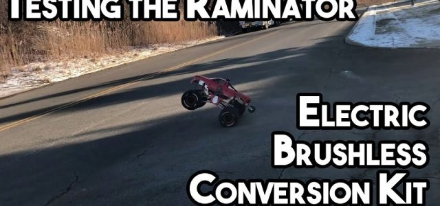 Testing The Brushless Conversion Kit For The Primal RC Raminator Monster Truck [VIDEO]
