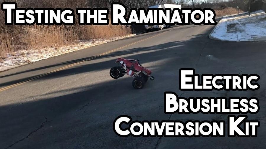 Testing The Brushless Conversion Kit For The Primal RC Raminator Monster Truck