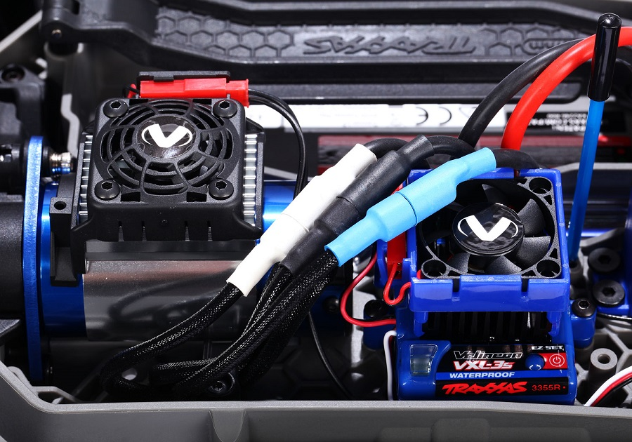 Traxxas Velineon Cooling System & Tires & Wheel Combos For The TRX-4, Hoss & Maxx