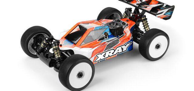 XRAY XB8 2021 1/8 4WD Nitro Buggy