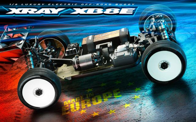 XRAY XB8E 2021 1/8 4WD Electric Buggy