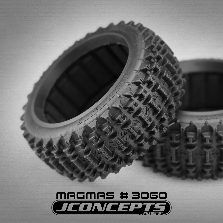 Magma 1/8 Buggy Tire & Pre-Mount Options