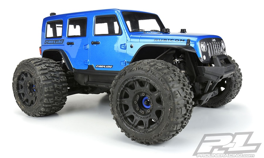 Pro-Line Extended Front & Rear Body Mounts For The Traxxas MAXX