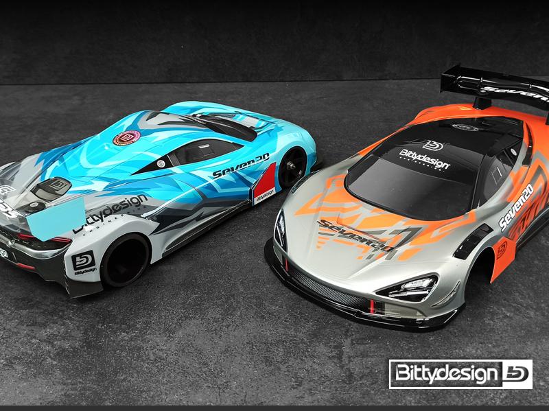 Bittydesign Seven20 GT12 Clear Body