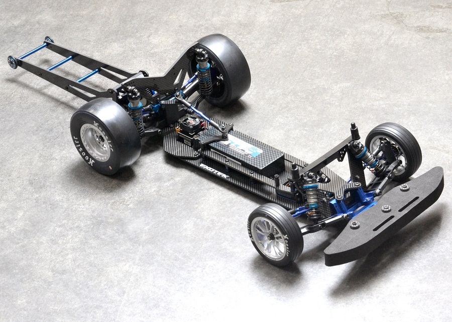 Exotek TX Vader Drag Chassis Conversion Set For The Traxxas Slash/Bandit