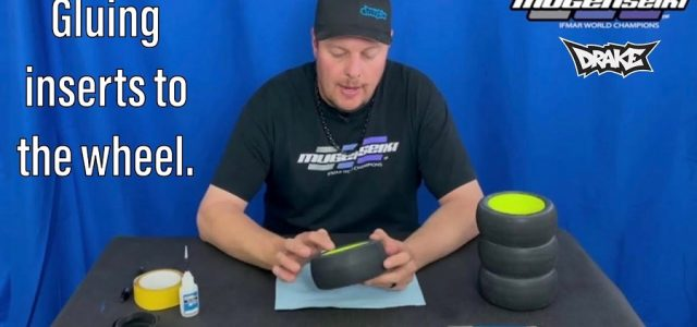 How To Glue Inserts To The Wheel With Mugen's Adam Drake [VIDEO]
