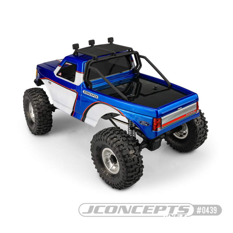 JConcepts JCI Tucked 1989 Ford F-250 Clear Body