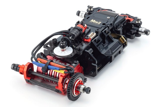 Kyosho 20th Anniversary Mini-Z MR-03 Chassis