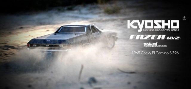 Kyosho Fazer Mk2 FZ02L 1969 Chevy El Camino SS 396 In Tuxedo Black [VIDEO]