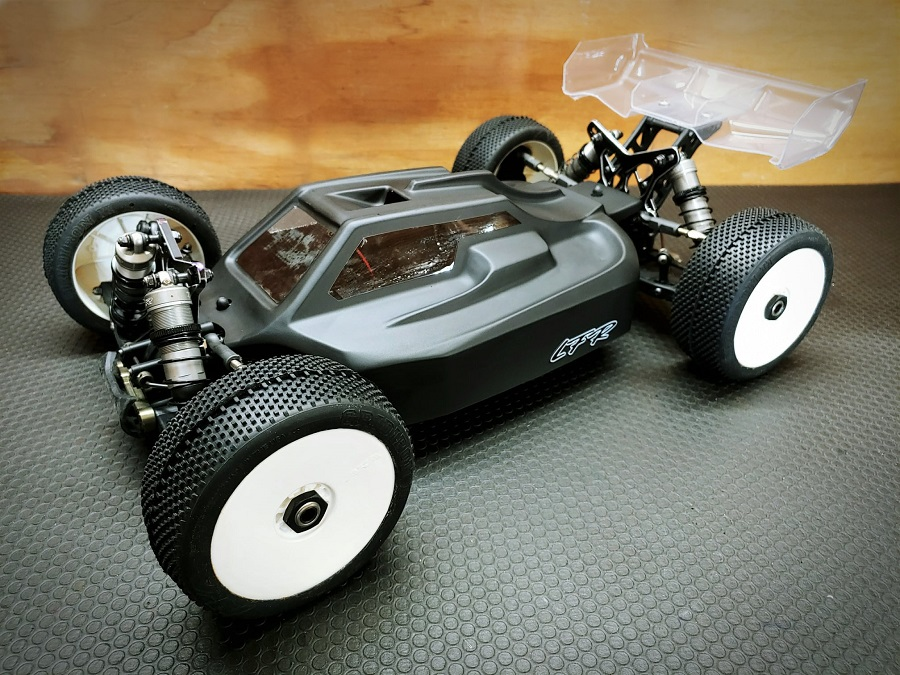 LFR A2.1 Tactic Clear Body For The TLR 8IGHT-XE Elite