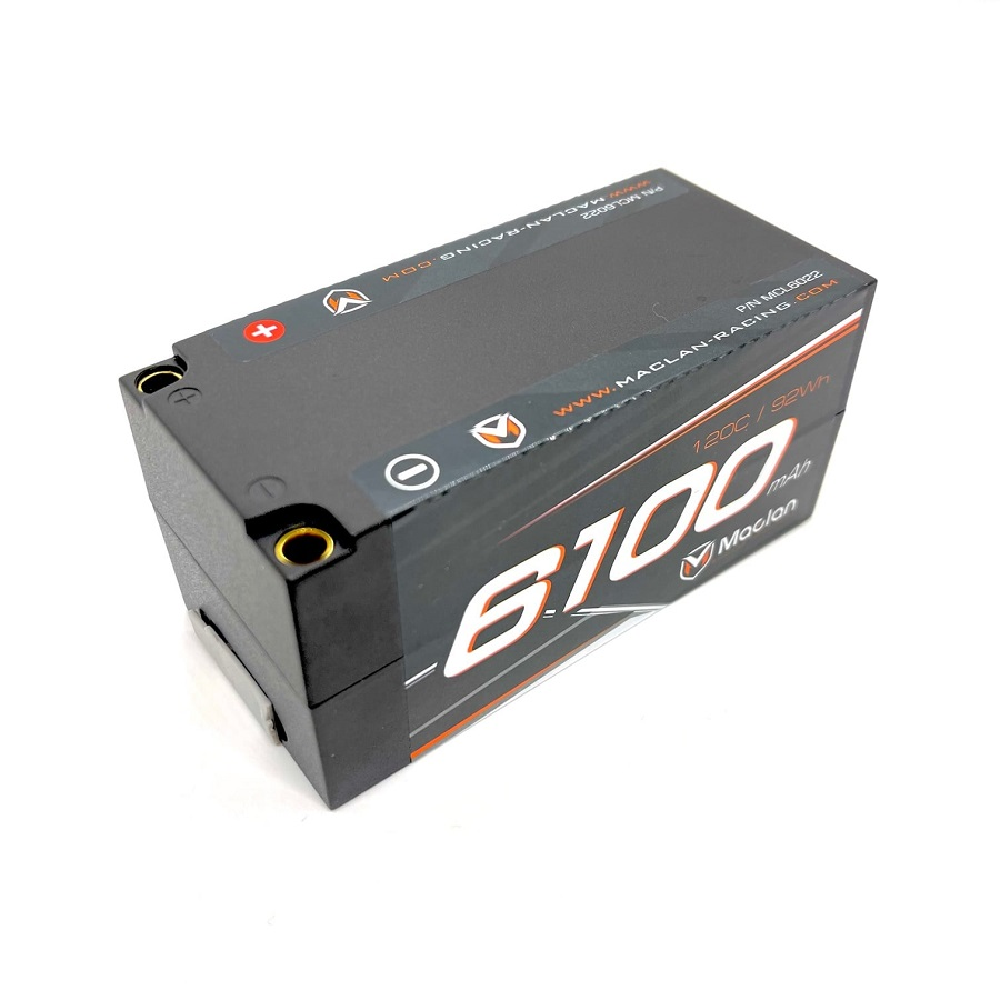 Maclan Racing Graphene HV 4S Shorty 6100mAh LiPo