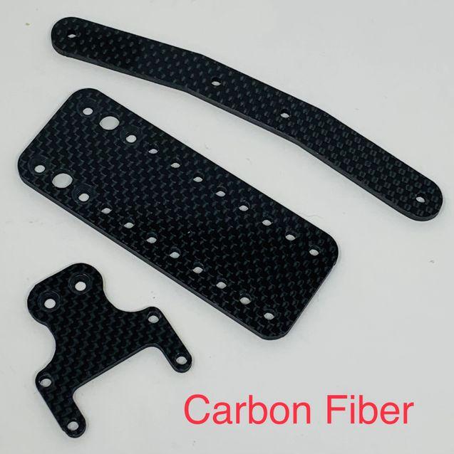 McAllister DR10 Carbon Fiber Rear Body Mount